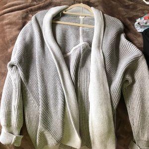 GAP gray cardigan